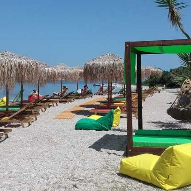 Beach Bar-Water Sports | Jammin in Paradise | Meganisi Lefkada
