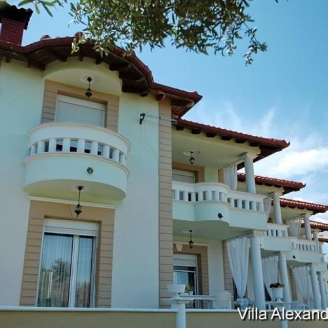 Rooms to let-Villas | halkidiki hanioti | Alexandros Villa